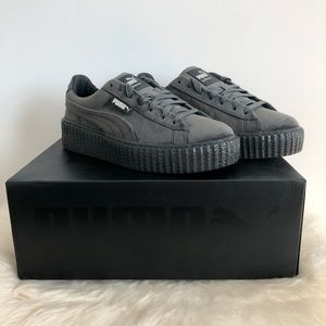 NWT PUMA x Fenty by Rihanna Creeper Velvet Shoes